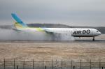 北の熊さんが、新千歳空港で撮影したAIR DO 767-33A/ERの航空フォト(写真)