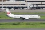 ハピネスさんが、羽田空港で撮影した日本トランスオーシャン航空 737-446の航空フォト(飛行機 写真・画像)