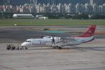 YANJIEさんが、台北松山空港で撮影したトランスアジア航空 ATR-72-600の航空フォト(写真)