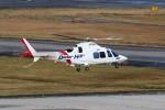 もぐ3さんが、新潟空港で撮影した静岡エアコミュータ AW109SP GrandNewの航空フォト(飛行機 写真・画像)