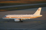 みっちゃんさんが、ケルン・ボン空港で撮影したドイツ空軍 A319-133X CJの航空フォト(飛行機 写真・画像)