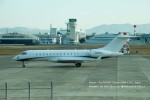 かみきりむしさんが、名古屋飛行場で撮影したWELLS FARGO BANK NORTHWEST NA TRUSTEE BD-700 Global Express/5000/6000の航空フォト(写真)