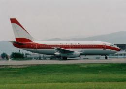 kumagorouさんが、山形空港で撮影した日本トランスオーシャン航空 737-205/Advの航空フォト(飛行機 写真・画像)