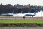 チャッピー・シミズさんが、茨城空港で撮影した航空自衛隊 T-4の航空フォト(写真)