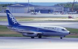 kumagorouさんが、那覇空港で撮影したエアーニッポン 737-281/Advの航空フォト(飛行機 写真・画像)