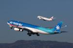 LAX Spotterさんが、ロサンゼルス国際空港で撮影したエア・タヒチ・ヌイ A340-313Xの航空フォト(写真)