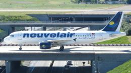 誘喜さんが、パリ オルリー空港で撮影したヌーべルエア・チュニジア A320-214の航空フォト(飛行機 写真・画像)