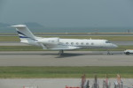 KKiSMさんが、香港国際空港で撮影したプライベートエア G-IV-X Gulfstream G450の航空フォト(飛行機 写真・画像)