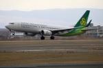 北の熊さんが、新千歳空港で撮影した春秋航空日本 737-81Dの航空フォト(写真)