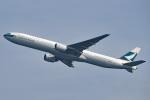 tsubasa0624さんが、羽田空港で撮影したキャセイパシフィック航空 777-367の航空フォト(写真)