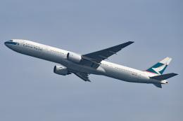 tsubasa0624さんが、羽田空港で撮影したキャセイパシフィック航空 777-367の航空フォト(飛行機 写真・画像)