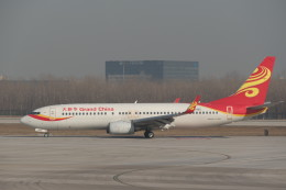 KKiSMさんが、北京首都国際空港で撮影した大新華航空 737-84Pの航空フォト(飛行機 写真・画像)