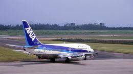 オキシドールさんが、米子空港で撮影した全日空 737-281/Advの航空フォト(飛行機 写真・画像)