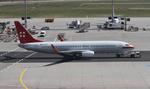 matsuさんが、フランクフルト国際空港で撮影したプライベートエア 737-8BKの航空フォト(飛行機 写真・画像)
