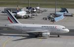 matsuさんが、フランクフルト国際空港で撮影したエールフランス航空 A318-111の航空フォト(飛行機 写真・画像)