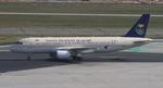 matsuさんが、フランクフルト国際空港で撮影したサウジアラビア航空 A320-214の航空フォト(写真)