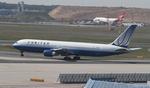 matsuさんが、フランクフルト国際空港で撮影したユナイテッド航空 767-322/ERの航空フォト(写真)