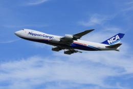 夏奈さんが、成田国際空港で撮影した日本貨物航空 747-8KZF/SCDの航空フォト(写真)