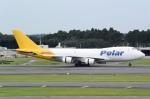 panchiさんが、成田国際空港で撮影したポーラーエアカーゴ 747-47UF/SCDの航空フォト(飛行機 写真・画像)