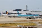 ハピネスさんが、関西国際空港で撮影した大韓航空 777-3B5/ERの航空フォト(飛行機 写真・画像)