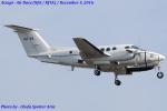 Chofu Spotter Ariaさんが、厚木飛行場で撮影したアメリカ空軍 C-12U-3 Huron (B200C)の航空フォト(飛行機 写真・画像)