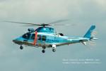 かみきりむしさんが、名古屋飛行場で撮影した神奈川県警察 AW109SPの航空フォト(写真)