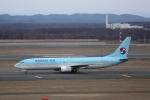 ATOMさんが、新千歳空港で撮影した大韓航空 737-9B5の航空フォト(写真)