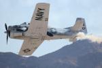 チャッピー・シミズさんが、ネリス空軍基地で撮影したアメリカ海軍 T-28C Trojanの航空フォト(写真)