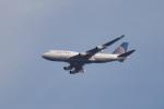 NFファンさんが、厚木飛行場で撮影したユナイテッド航空 747-422の航空フォト(写真)