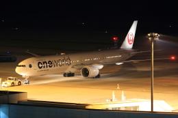 ふじいあきらさんが、広島空港で撮影した日本航空 777-346/ERの航空フォト(飛行機 写真・画像)