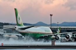 Dojalanaさんが、函館空港で撮影したエバー航空 747-45Eの航空フォト(写真)