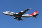 mogusaenさんが、成田国際空港で撮影したカーゴルクス・イタリア 747-4R7F/SCDの航空フォト(飛行機 写真・画像)