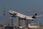 マルさんが、羽田空港で撮影したルフトハンザドイツ航空 A340-642の航空フォト(写真)