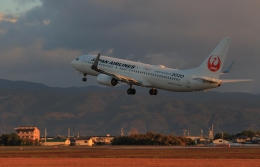 KCZfunさんが、高知空港で撮影した日本航空 737-846の航空フォト(飛行機 写真・画像)