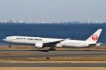 camelliaさんが、羽田空港で撮影した日本航空 777-346/ERの航空フォト(写真)