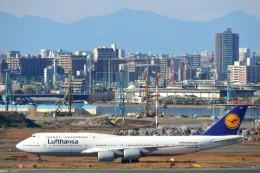 timeさんが、羽田空港で撮影したルフトハンザドイツ航空 747-830の航空フォト(飛行機 写真・画像)