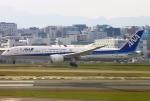 あしゅーさんが、福岡空港で撮影した全日空 787-9の航空フォト(写真)
