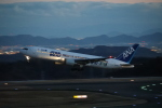 ピーチさんが、岡山空港で撮影した全日空 767-381/ERの航空フォト(写真)