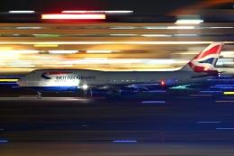 多摩川崎2Kさんが、羽田空港で撮影したブリティッシュ・エアウェイズ 747-436の航空フォト(飛行機 写真・画像)