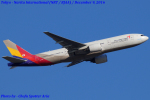 Chofu Spotter Ariaさんが、成田国際空港で撮影したアシアナ航空 777-28E/ERの航空フォト(飛行機 写真・画像)