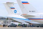 臨時特急7032Mさんが、山口宇部空港で撮影したロシア空軍 Il-76MDの航空フォト(写真)