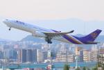 Tomo_ritoguriさんが、福岡空港で撮影したタイ国際航空 A330-343Xの航空フォト(写真)