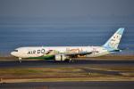 パンダさんが、羽田空港で撮影したAIR DO 767-381の航空フォト(写真)
