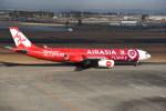 kumagorouさんが、仙台空港で撮影したエアアジア・エックス A330-343Xの航空フォト(飛行機 写真・画像)