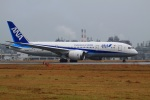 M.Mさんが、松山空港で撮影した全日空 787-8 Dreamlinerの航空フォト(写真)