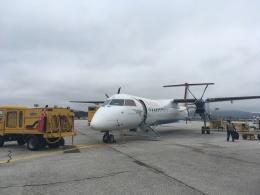 航空フォト:OE-LGE オーストリアン・アローズ DHC-8-400