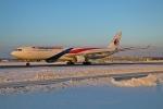北の熊さんが、新千歳空港で撮影したマレーシア航空 A330-323Xの航空フォト(写真)