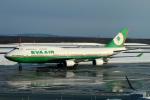 なごやんさんが、新千歳空港で撮影したエバー航空 747-45Eの航空フォト(写真)