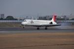 T.Sazenさんが、伊丹空港で撮影したJALエクスプレス MD-81 (DC-9-81)の航空フォト(飛行機 写真・画像)