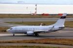 T.Sazenさんが、関西国際空港で撮影したアメリカ企業所有 737-7BC BBJの航空フォト(写真)